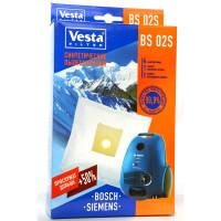 Комплект пылесборников 4шт+2фильтра Vesta filter BS