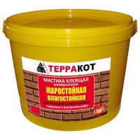 Мастика жаростойкая ТЕРРАКОТ, 1,5кг