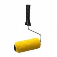 Валик полиэстр 20/180/40мм желтый, в сборе, каркас 0303011
