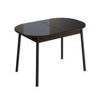 Стол обеденный раздвижной Енисей (1,1*0,7*0,75) Эмаль Венге