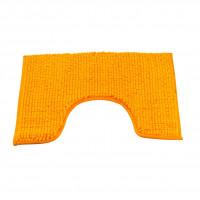 Коврик для туалета 45х45см оранжевый