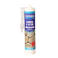 Герметик KRASS для бетона 300мл серый