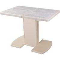 Стол Шарди керамическая плитка синхронно раздвижной
