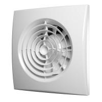 Вентилятор осевой вытяжной с обратным клапаном D125,
