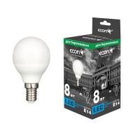 Лампа светодиодная ECON LED P45 E14
