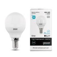 Лампа светодиодная Gauss LED Elementary Globe