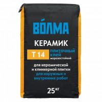 Клей для плитки Волма Керамик, 25 кг