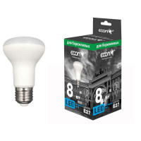 Лампа светодиодная ECON LED R63 8Вт