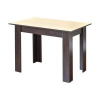 Стол обеденный Нокс (1,1*0,7*0,75) Венге светлый+Венге темный