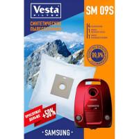 Комплект пылесборников 4шт+2фильтра Vesta filter SM