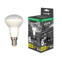 Лампа светодиодная ECON LED R50 6Вт