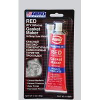 Герметик силиконовый 85гр ABRO красный AB 11