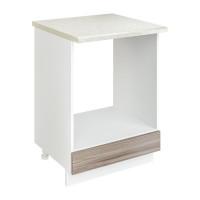 Шкаф стол рабочий под духовку Джус 600 Белый
