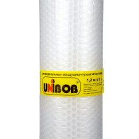 Пленка воздушно пузырчатая UNIBOB 1,2х5м прозрачная 47070