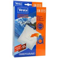 Комплект пылесборников Универсальный 4шт+2фильтра Vesta filter