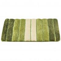 Коврик для ванной 50х80см зеленый, микрофайбер