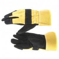 Перчатки из кожи комбинированные ТРАЛ 67736