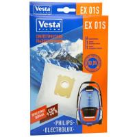Комплект пылесборников 4шт+2фильтра Vesta filter LG