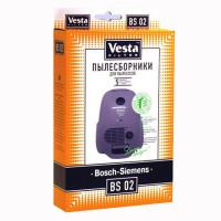 Комплект пылесборников 5шт+фильтр Vesta filter BS 02