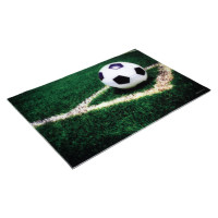 Коврик влаговпитывающий Samba 40*60 см. Футбол