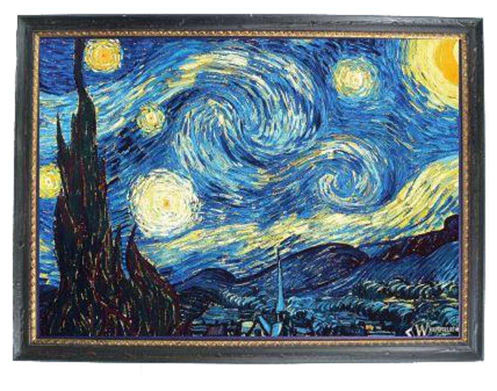 Картинка ван гог звездная ночь