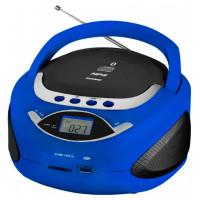 Аудиомагнитола Telefunken TF CSRP3494B, синий