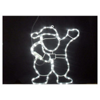 Фигура светящаяся «Дед Мороз», 7 лампы, холодный