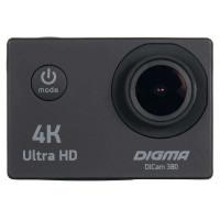 Экшн камера DIGMA DiCam 380 4K, черный