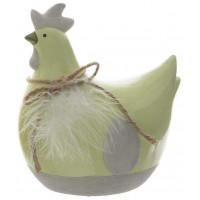 Фигура декоративная Decoris «Петушок», зеленый, 7.5
