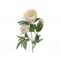 Цветок искусственный Decoris «Роза», 75 см, белая