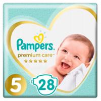 Подгузники Pampers, Premium Care, размер 5,