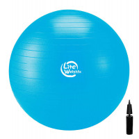 Мяч гимнастический Lite Weights, 75 см + насос