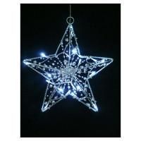 Фигура светящаяся «Звезда», 15ламп, холодный белый, 33см
