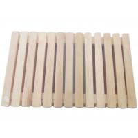 Коврик деревянный малый OBSI, 40х40см