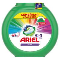 Капсулы для стирки «Color» Ariel, 48 шт