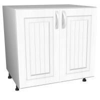 Шкаф напольный под мойку «Белая классика»,