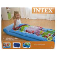 Матрас надувной детский Intex, с покрывалом на молнии,