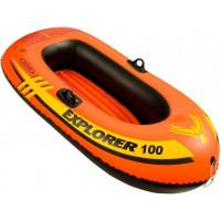 Лодка надувная одноместная Intex Explorer 100, 147х84х36