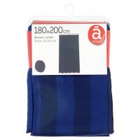 Штора для душа Actuel, синяя, 180х200 см