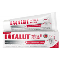 Зубная паста «White&repair» Lacalut, 75 мл