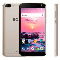Смартфон BQ 5511L Bliss, золотистый
