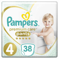Трусики Pampers Premium Care Pants 4