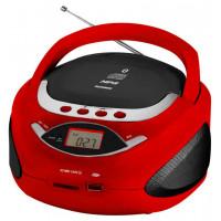 Аудиомагнитола Telefunken TF CSRP3494B, красный