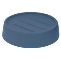 Мыльница Actuel, серо синяя, 11,5х8,5х3,5 см