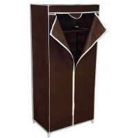 Шкаф вешалка гардероб с чехлом, коричневый