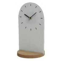 Часы настольные Kaeming Glass Clock, серые