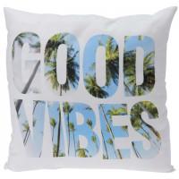 Декоративная подушка Good Vibes, 45х45 см
