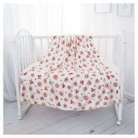 Плед Baby nice, Ultrasoft, Цветы, 100х118 см
