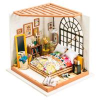 Интерьерный конструктор Спальня Robotime DIY HOUSE