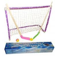 Хоккейный набор (2 клюшки, 2 ворот, сетка,